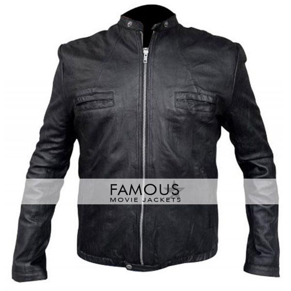 c6244b91c 17 Again Zac Efron Black Leather Jacket
