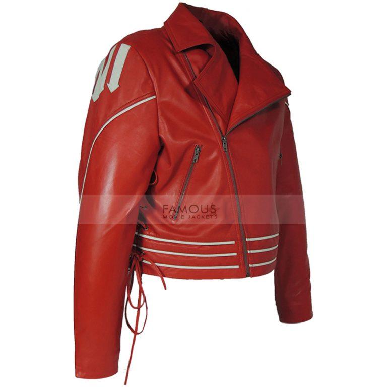 Freddie Mercury Red Concert Leather Jacket