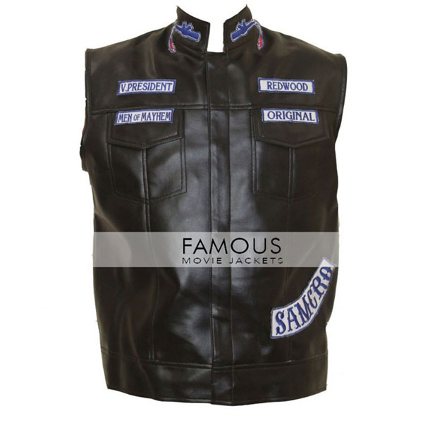 Jackson Jax Sons Of Anarchy Vest Famous Movie Jackets