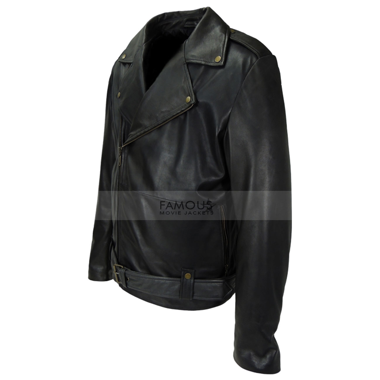 Cry-Baby Johnny Depp Motorcycle Leather Jacket