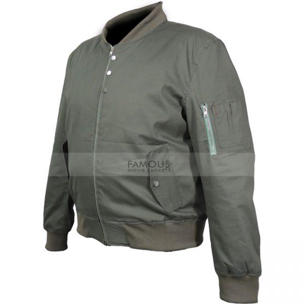 Almost Human Karl Urban Bomber Jacket