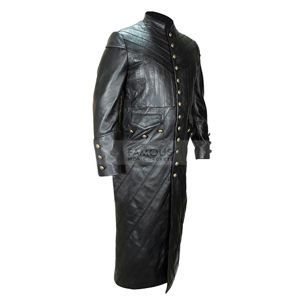 70f4ae09ec0e Black Sails S3 Pirate Captain Flint Leather Coat - Famous Movie Jackets