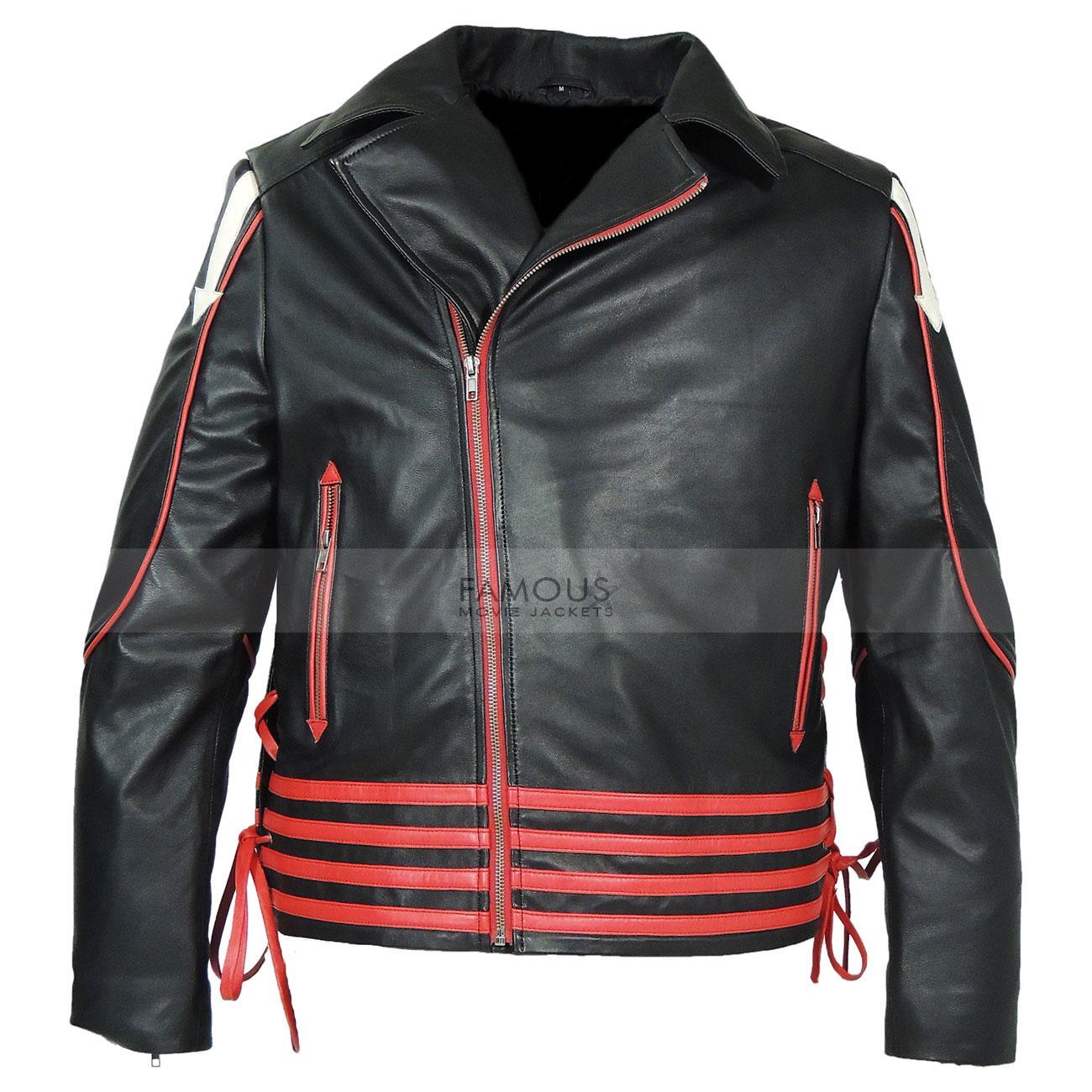 Freddie-Mercury-Red-and-Black-Leather-Jacket1