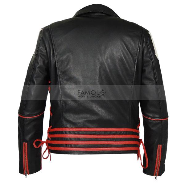 Details about  /Freddie Mercury Red White /& Black Men/'s XS Leather Jacket////