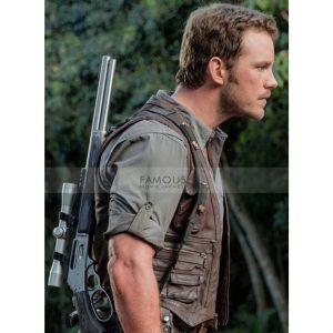 Jurassic World Chris Pratt Leather Vest