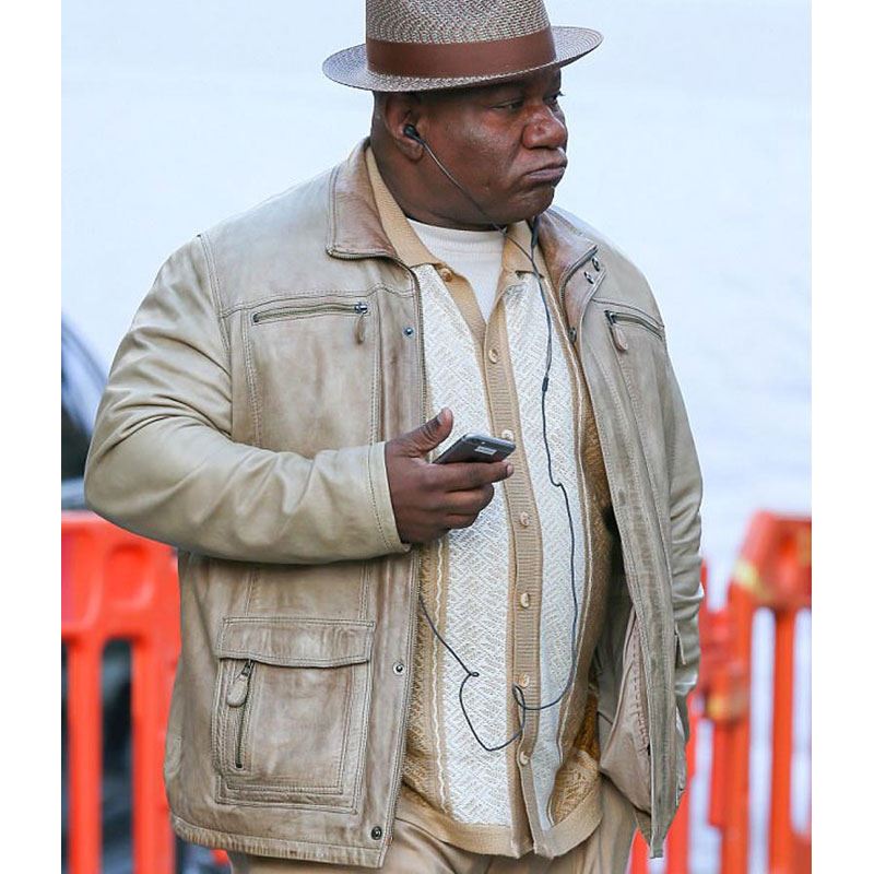 Mission Impossible 6 Fallout Luther Stickell (Ving Rhames) Leather Jacket