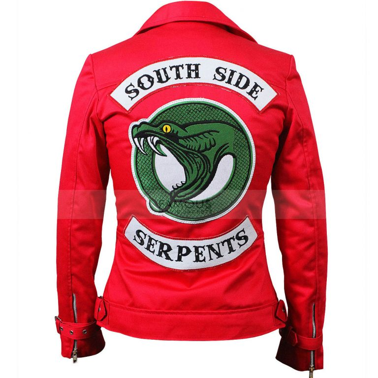 Riverdale Ladies Southside Serpents Cheryl Blossom Leather Jacket