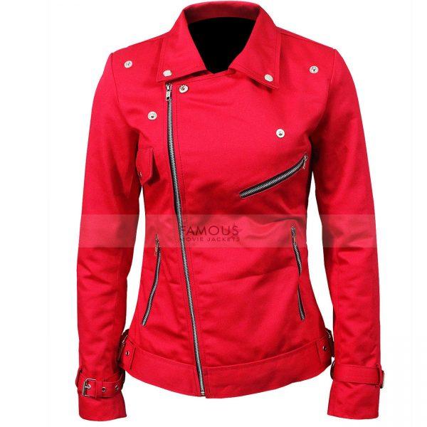 Riverdale Ladies Southside Serpents Cheryl Blossom Leather Jacket