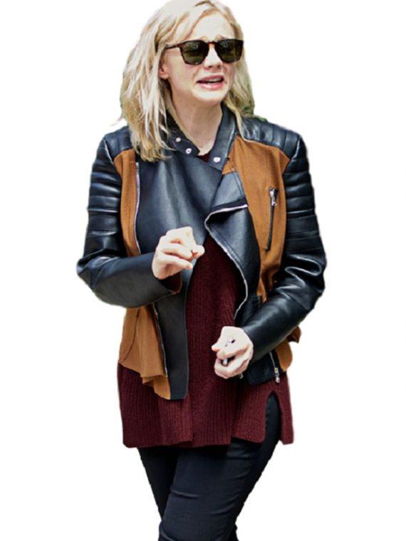 Carey Mulligan Elegant Designer JacketCarey Mulligan Elegant Designer Jacket