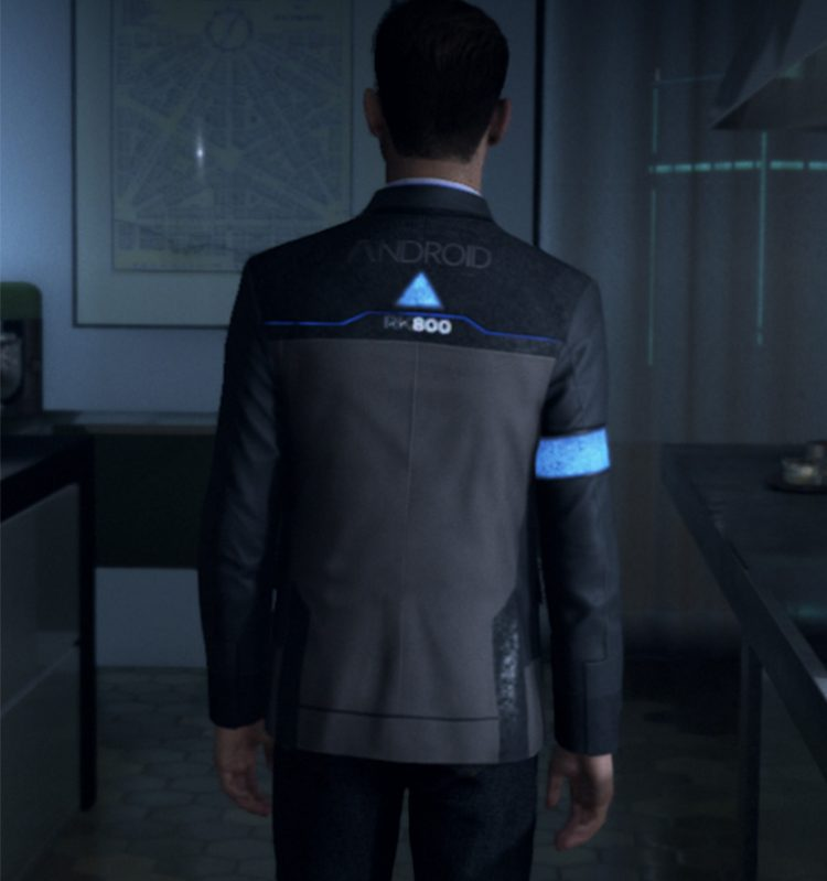 Detroit Become Human Cosplay Jacket