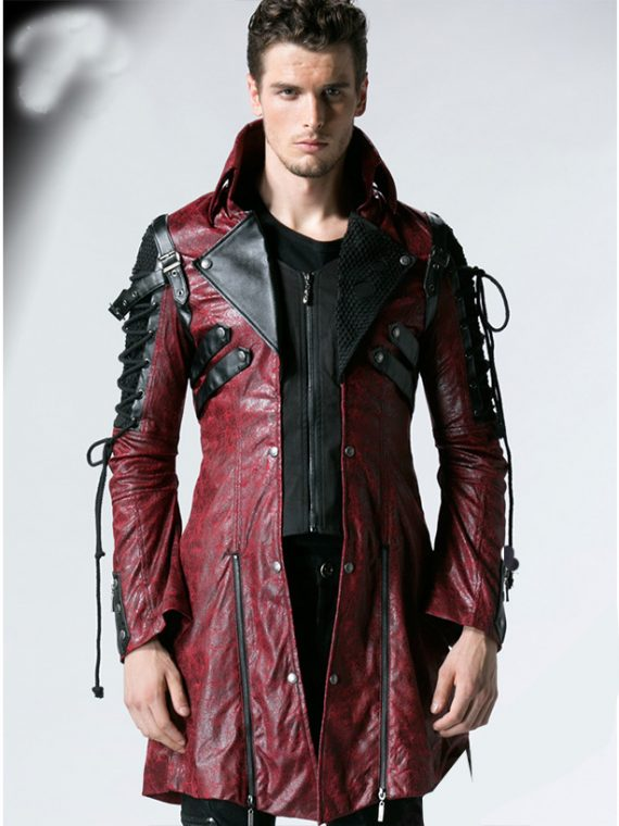 Goth Matrix Steampunk Gothic Coat