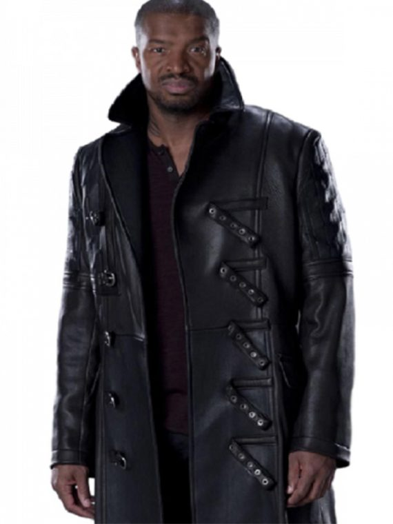 Roger Cross TV Series Continuum Trench Coat