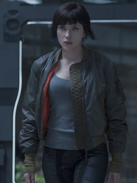 SCARLETT JOHANSSON GHOST IN SHELL JACKET