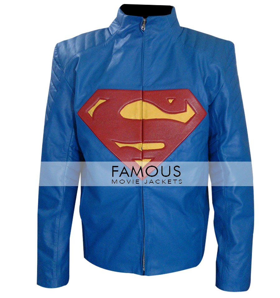 Superman Man Of Steel Leather Jacket   Designer Leather Jackets For Menu0027s  And Womenu0027s   Buy Leather Jackets U0026 Coats   USA/UK