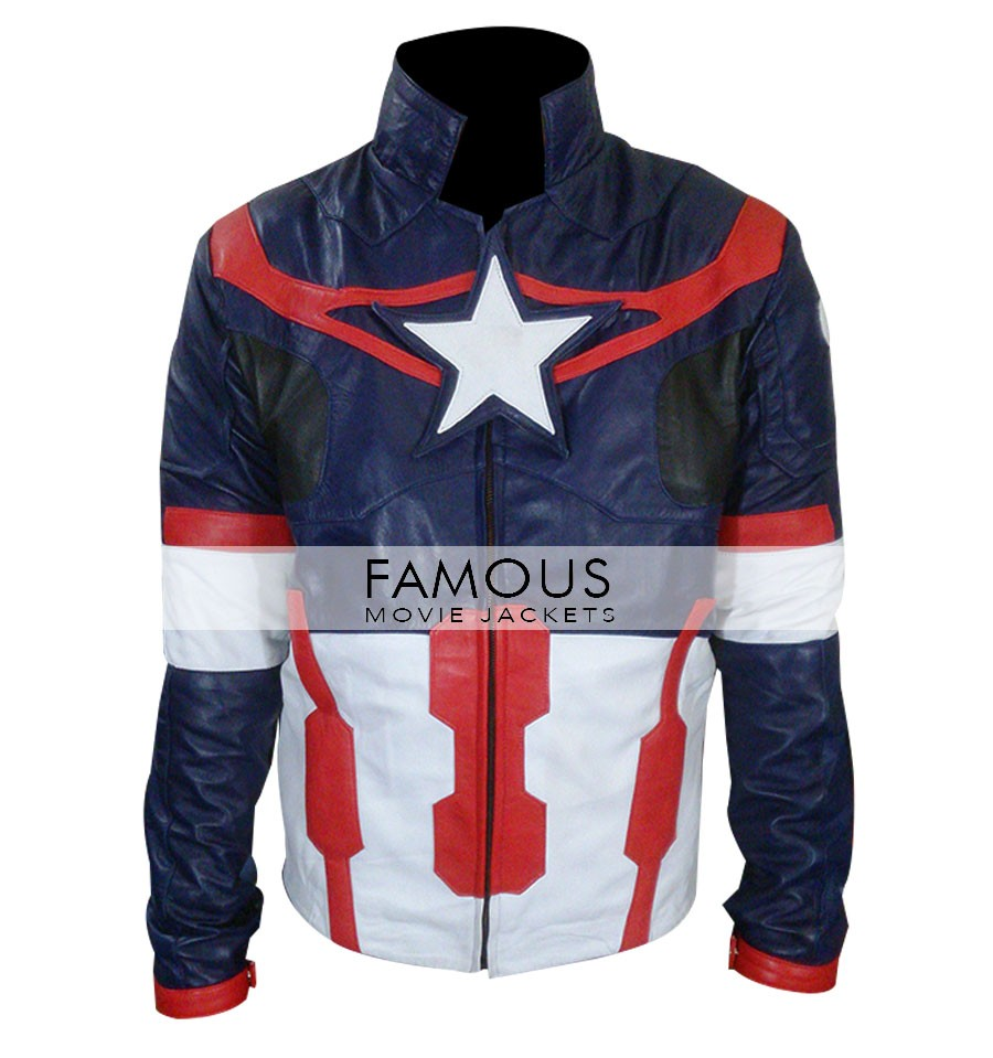 Chris Evans Avengers Age Of Ultron Jacket Costume