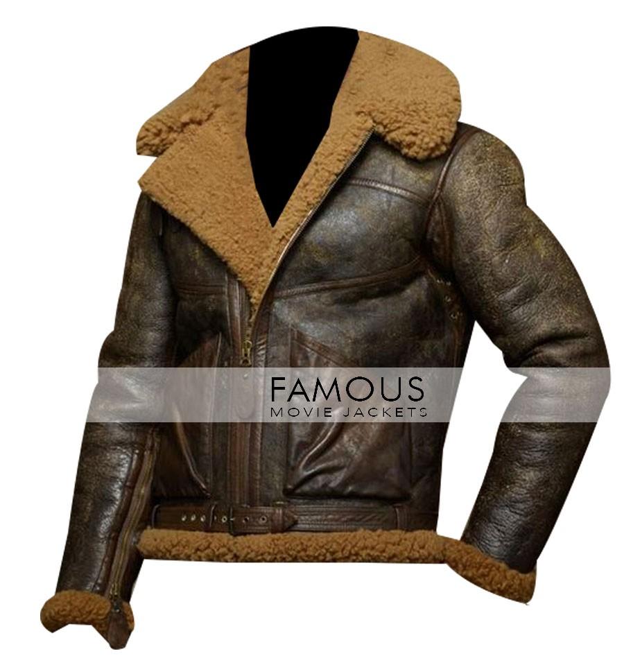 Ralph Leather Jacket Polo Lauren Designer Distressed Jackets Brown xdeBCo