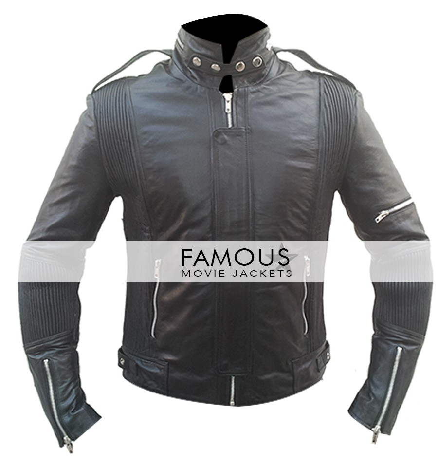 1e74ab7cb Daft Punk 2007 World Tour Black Leather Jacket