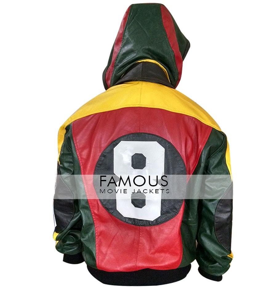 8 Ball Michael Hoban Vintage Bomber Jacket