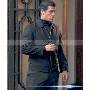 Henry Cavill Black Jacket