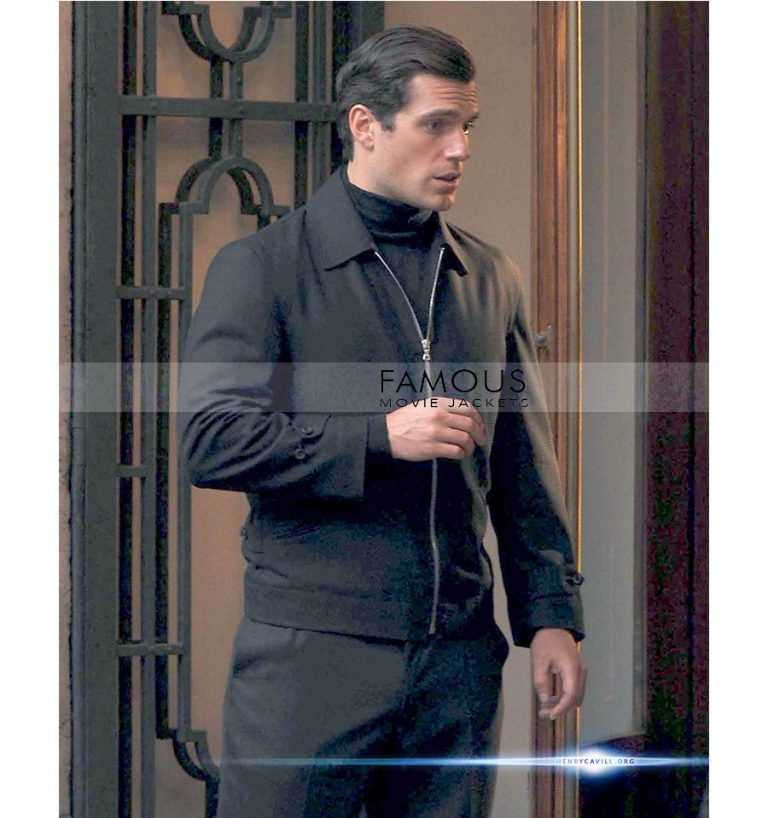 Henry Cavill Black Jacket