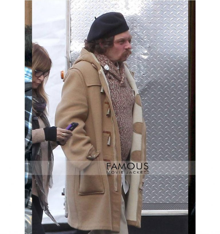 Yoga Hosers Johnny Depp Brown Long Trench Coat