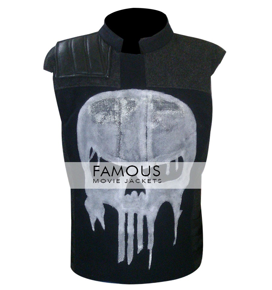 Punisher War Zone Tactical Frank's Skull Vest