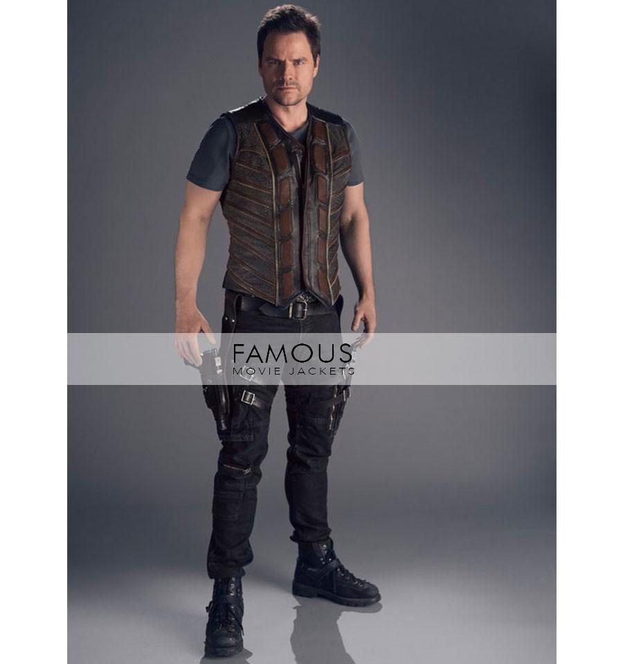 Dark Matter TV Series Anthony Lemke Three Leather Vest