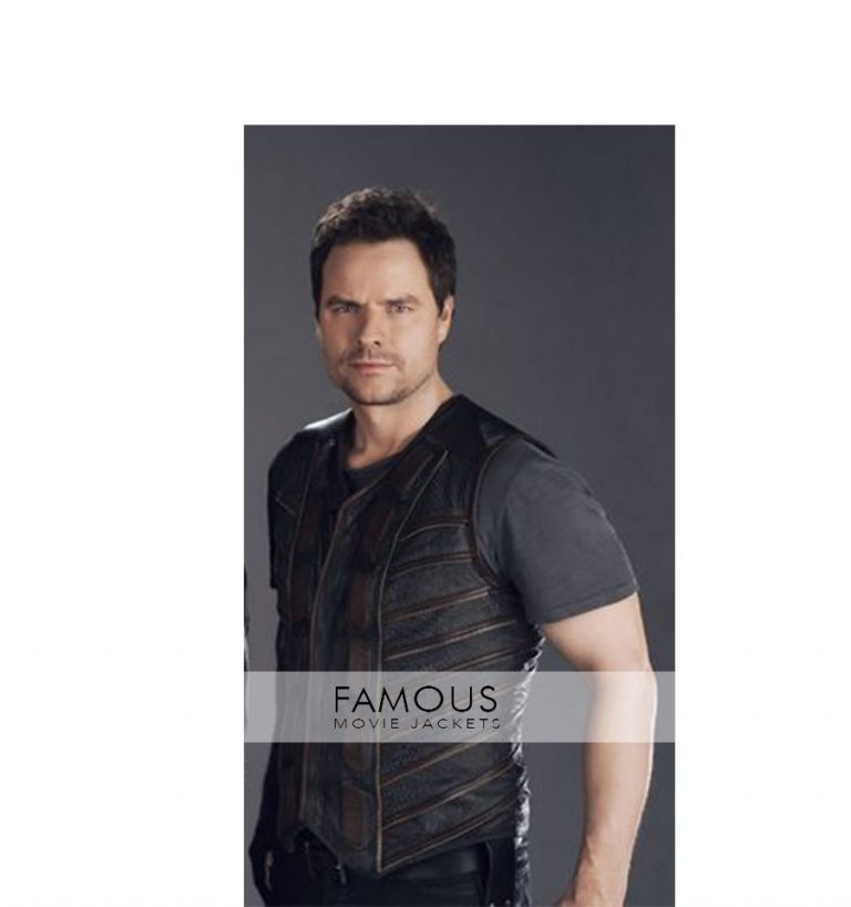 Dark Matter TV Series Anthony Lemke Three Leather Vest
