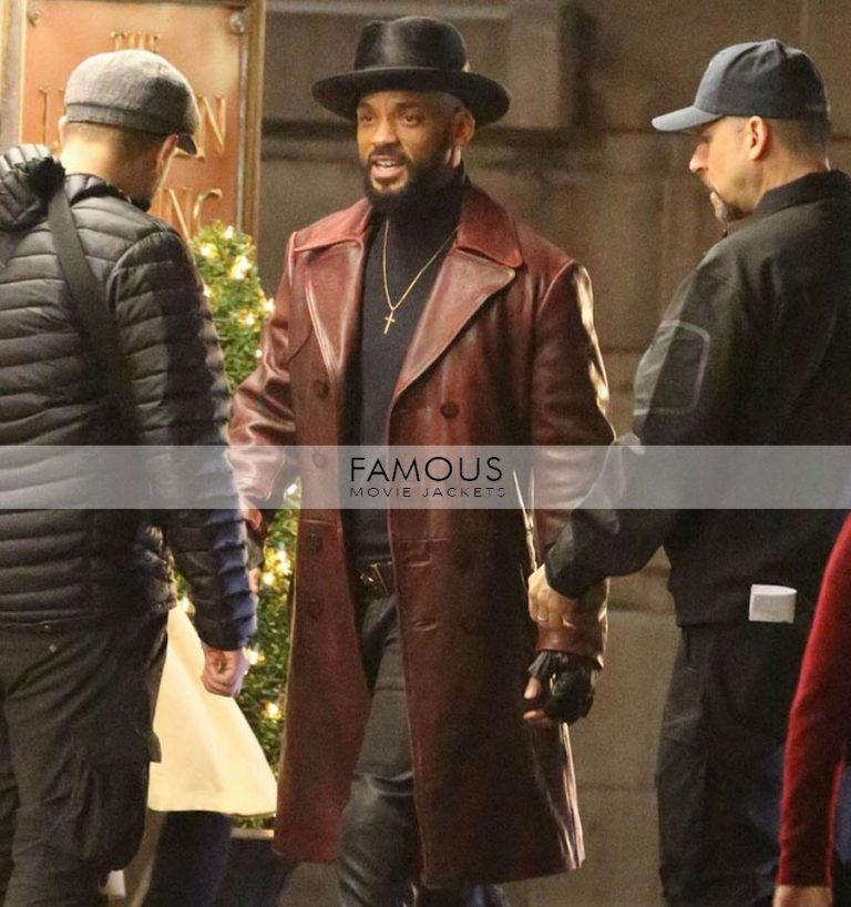 Suicide Squad Will Smith Deadshot Brown Jacket