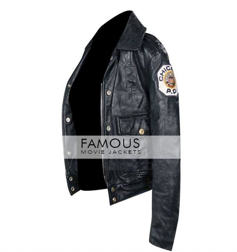 Jennifer Lopez Angel Eyes Movie Police Black Jacket