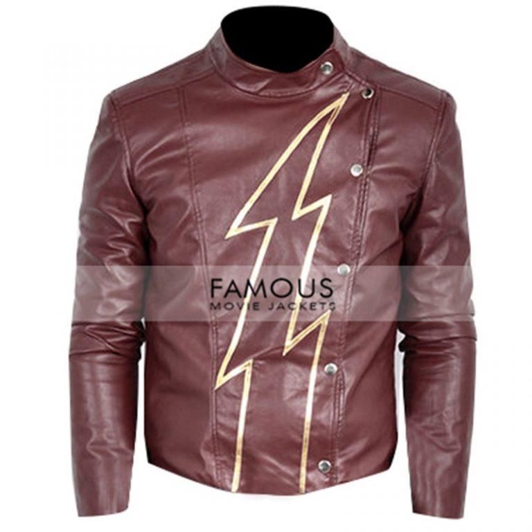 The Flash Season 2 Jay Garrick Cosplay Costume Jacket