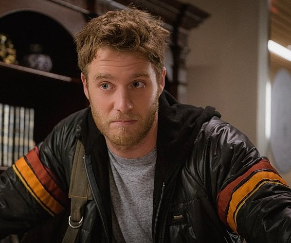 Brian Finch Limitless TV Series Jake McDorman Stripes Jacket
