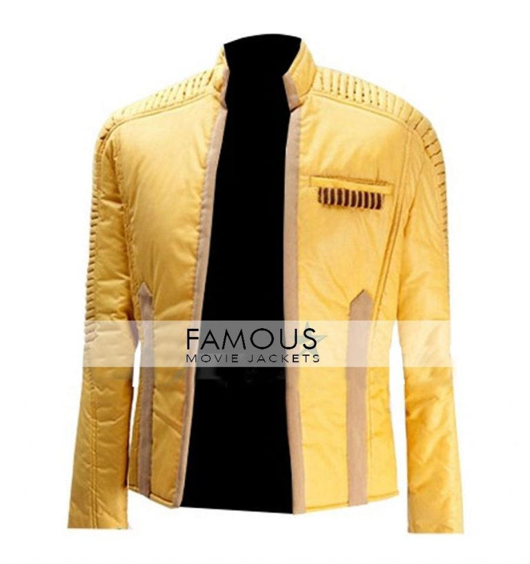 Star Wars Yellow Luke Skywalker Jacket