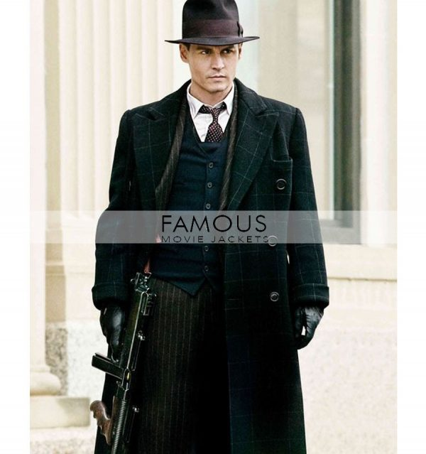 PUBLIC ENEMIES JOHNNY DEPP LONG COAT