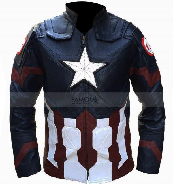 Captain America Civil War Jacket