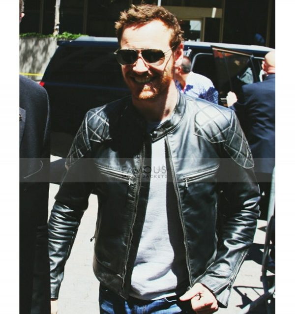 X-Men Apocalypse Michael Fassbender Black Jacket