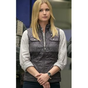 Emily Vancamp Captain America Civil War Sharon Carter Vest