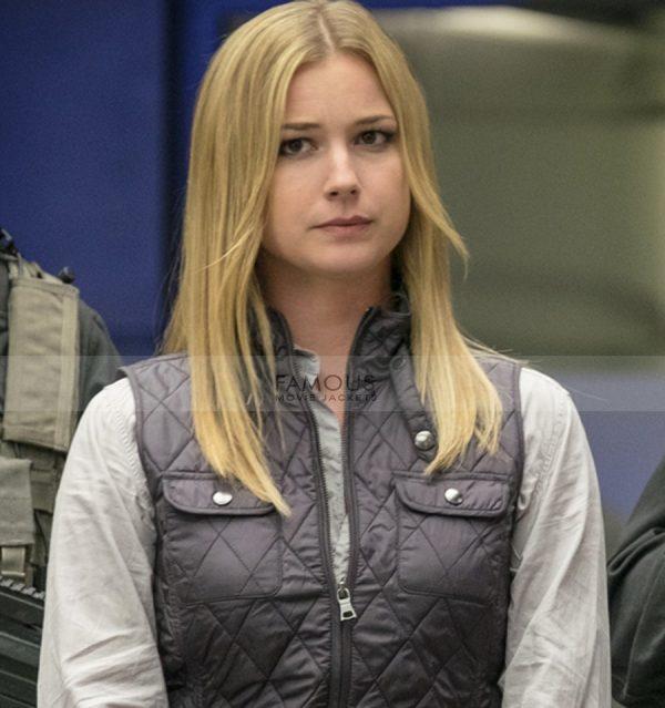 Emily Vancamp Captain America Civil War Sharon Carter Vest