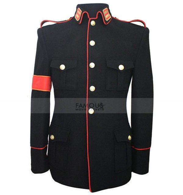 Michael Jackson Black Military Jacket