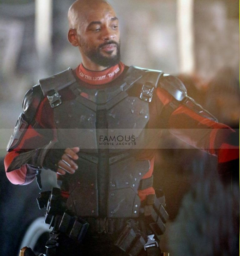 Suicide Squad Deadshot Will Smith Costume Jacket