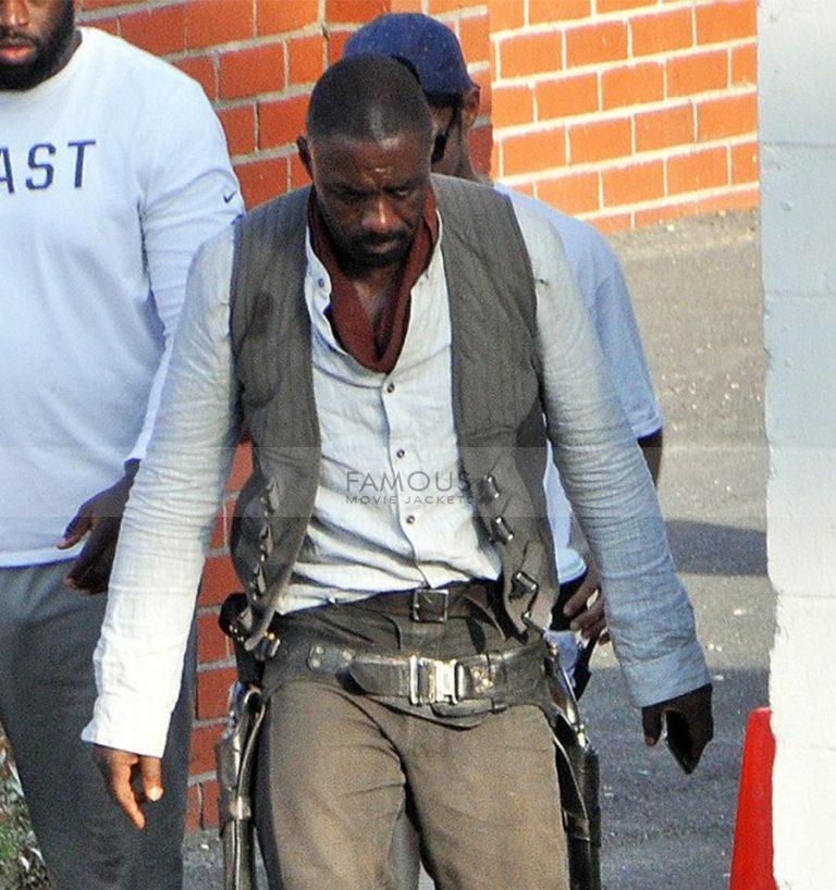 Idris Elba Dark Tower Roland Deschain Cotton Vest