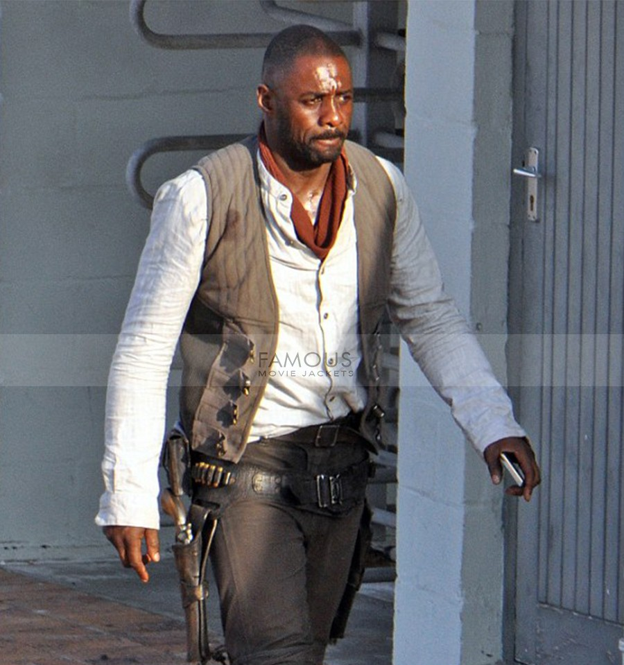 Idris Elba Dark Tower Roland Deschain Cotton Vest