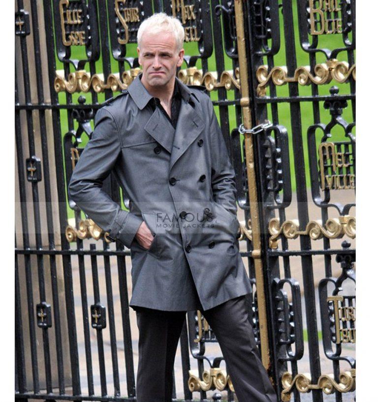 T2 Trainspotting Jonny Lee Miller Black Coat