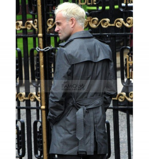 T2 Trainspotting Jonny Lee Miller Black Coat