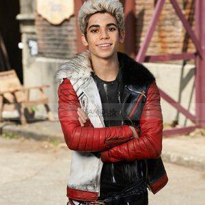 Carlos Descendants Cameron Boyce Leather Jacket