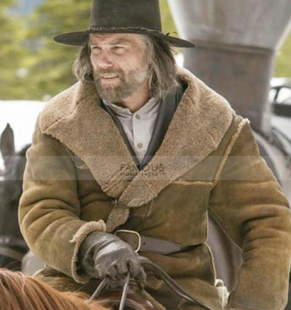 Hell On Wheels Cullen Bohannon Shearling Coat