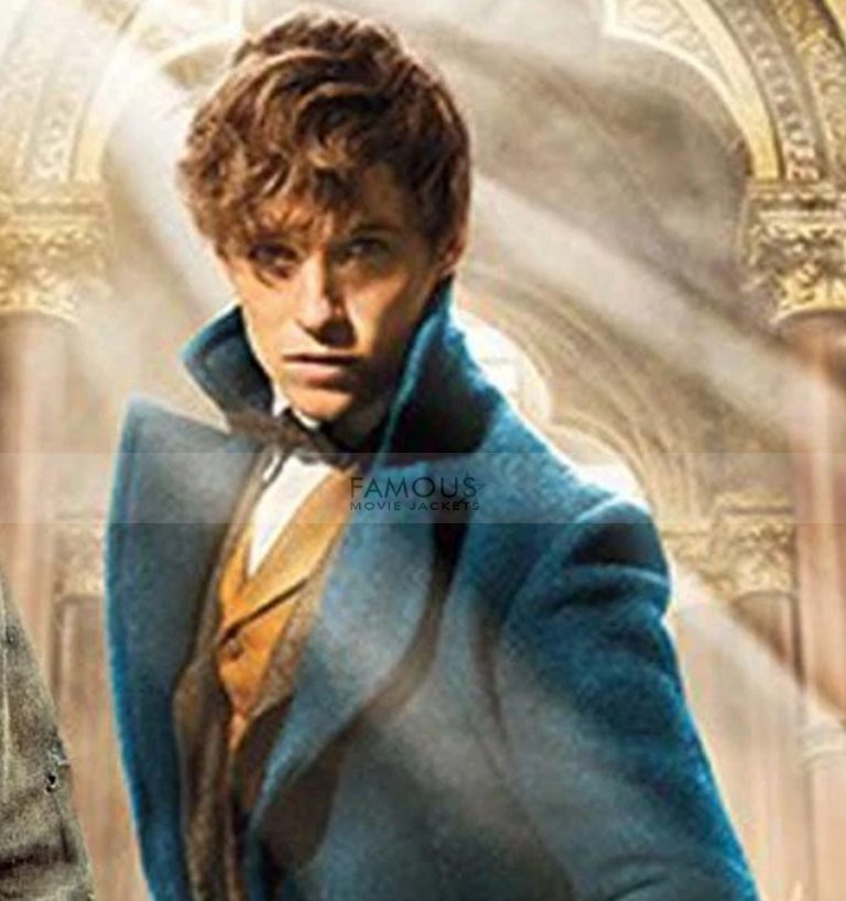 Fantastic Beasts Eddie Redmayne Wool Coat