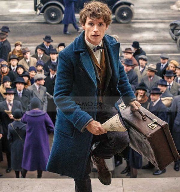 Fantastic Beasts Eddie Redmayne Wool Coat