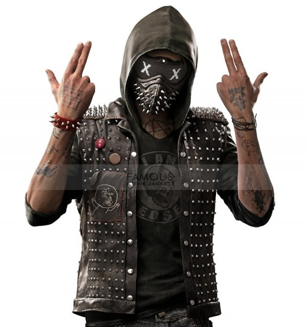 Watch Dogs Leather Vest