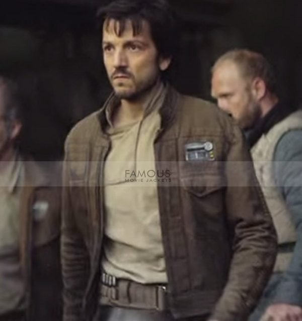 Star Wars Rogue One Captain Cassian Andor Jacket